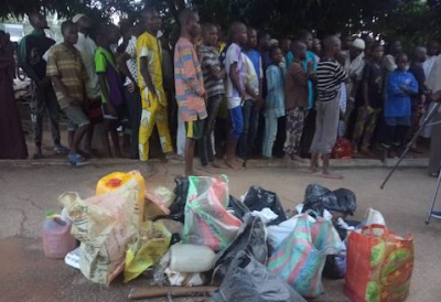 Police rescue 108 at another illegal rehabilitation centre